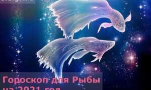 Гороскоп для Рыбы на 2021 год