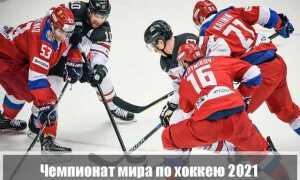 Чемпионат мира по хоккею в 2021 году