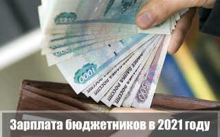 Зарплата бюджетников в 2021 году: будет ли повышение