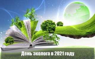 День эколога в 2021 году