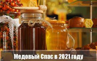 Медовый Спас в 2021 году