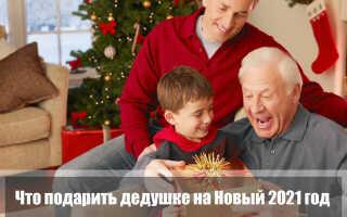 Что подарить дедушке на Новый 2021 год