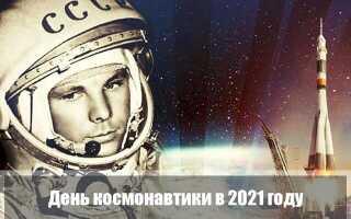 День космонавтики в 2021 году