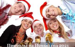 Новогодние приколы 2021: шутки и розыгрыши