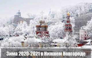 Какой будет зима 2020-2021 в Нижнем Новгороде