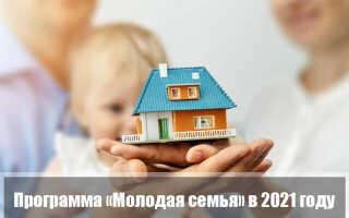 Ипотека «Молодая семья» 2021: условия госпрограммы