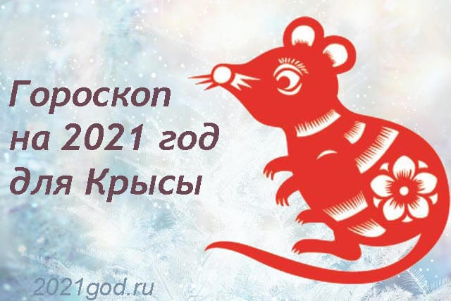 гороскоп на 2021 крыса мужчина