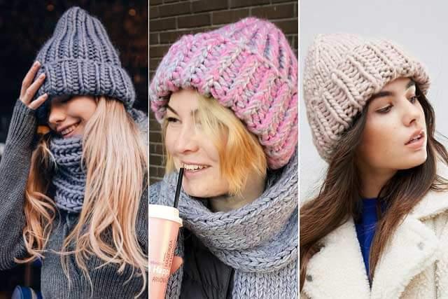 фото модных шапок в 2021 году