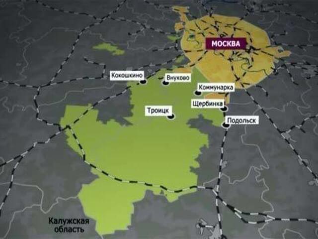 карта расширения москвы в 2021 году