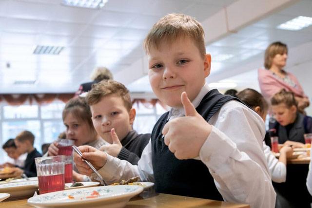 Бесплатное питание в школах в 2020-2021 учебном году2
