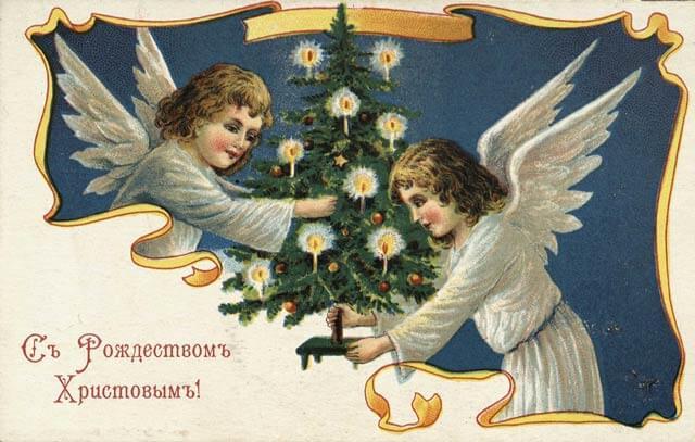 Открытки с Рождеством 2021: лучшие картинки-поздравления48