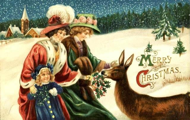 Открытки с Рождеством 2021: лучшие картинки-поздравления38
